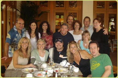 A few Zero Limits attendees having fun together in Maui!